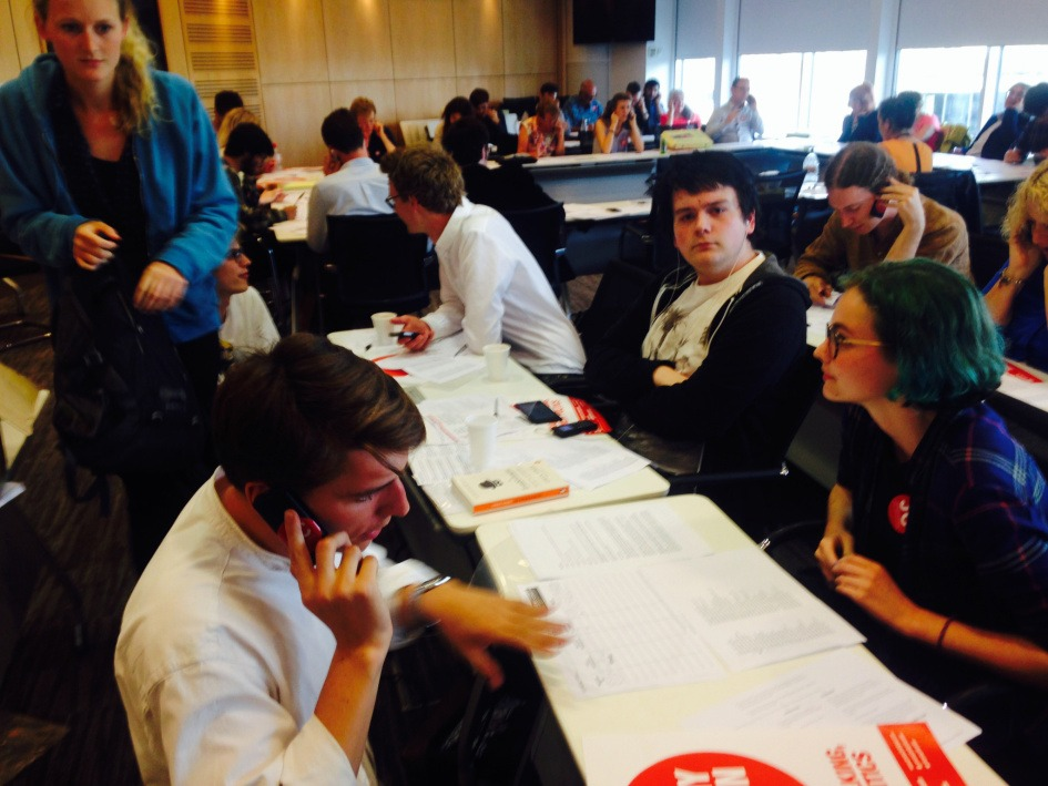 Cyber-youth on the phone for Jeremy Corbyn as Labour leader