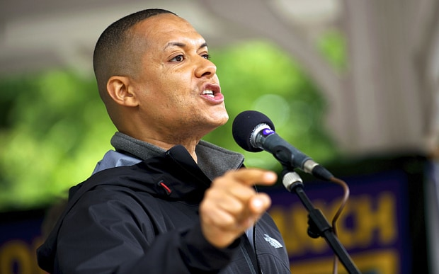 Left wing MP Clive Lewis Photo: Rex in The Telegraph