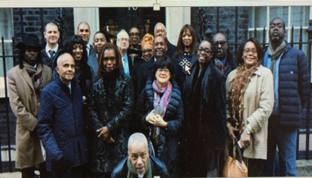 Black Mental Health Care petitioners Downing Street